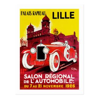 Salon Regional De L'Automobile ~ Lille Postcard