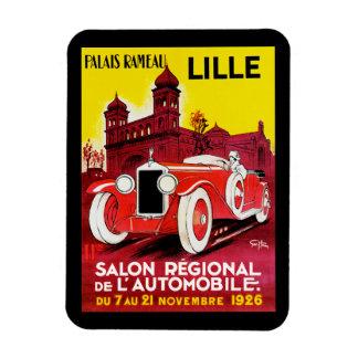 Salon Regional De L'Automobile ~ Lille Rectangular Photo Magnet