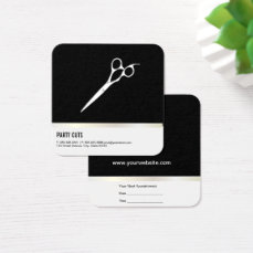 Salon Shears (Appointment Card) Square Business Card