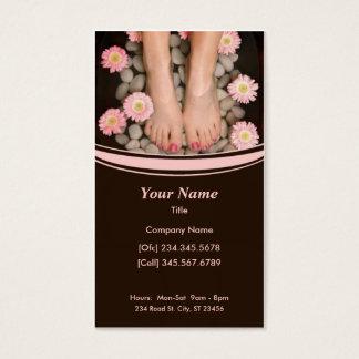 Salon Spa Business Card