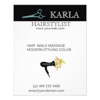 Salon & Spa Hair Care Flyers