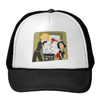 Salon Style Trucker Hat