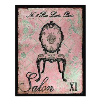 "Salon XI ~ Invitations 4.25"" X 5.5"" Invitation Card"