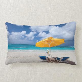 Salones en la playa almohada