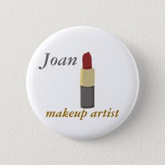 Salons Makeup Artist Pinback Button