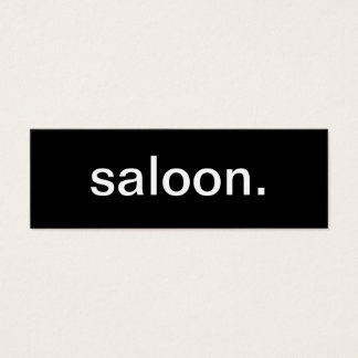 Saloon Business Card