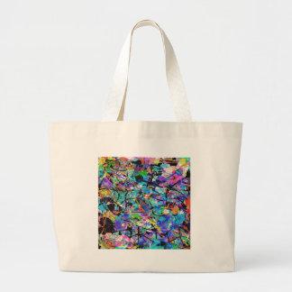 Salpica de la pintura bolsa de mano