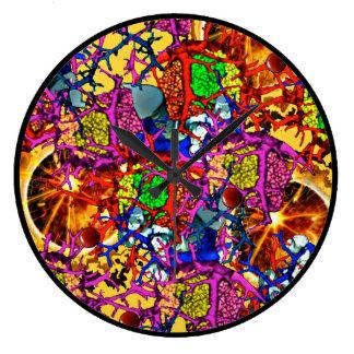 Salpicadura #2 de la materia orgánica reloj