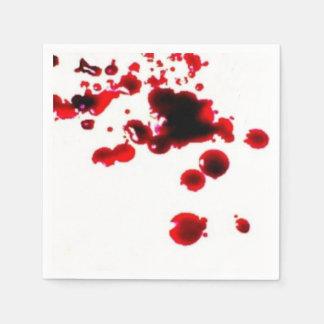 salpicadura 2.png de la sangre servilleta desechable
