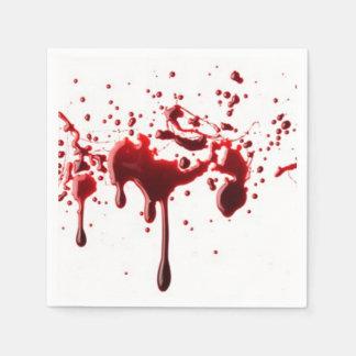 salpicadura 3.png de la sangre servilletas de papel