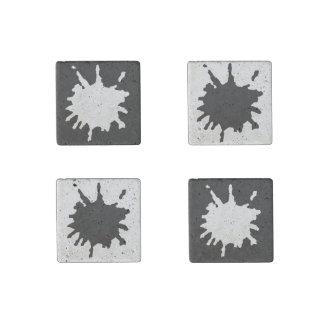 Salpicadura adaptable de la pintura imán de piedra