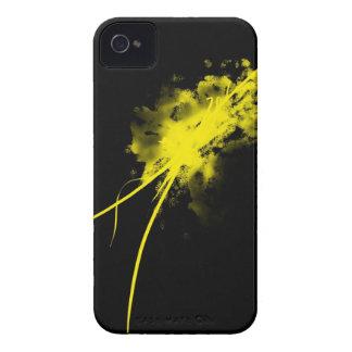 salpicadura amarilla Case-Mate iPhone 4 fundas