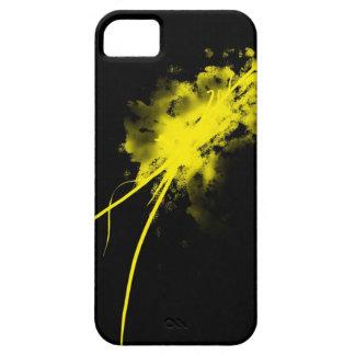salpicadura amarilla iPhone 5 fundas