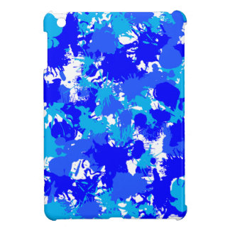 Salpicadura azul de la pintura de Jánuca