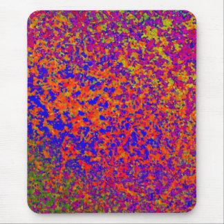 Salpicadura de la pintura del cojín de ratón alfombrilla de ratones