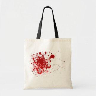 Salpicadura de la sangre bolsa