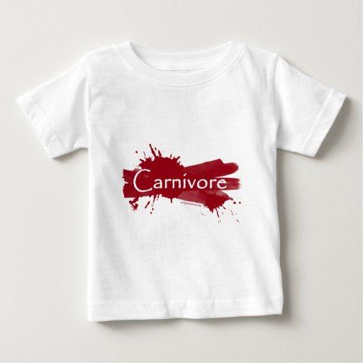 salpicadura de la sangre del carnívoro t-shirt