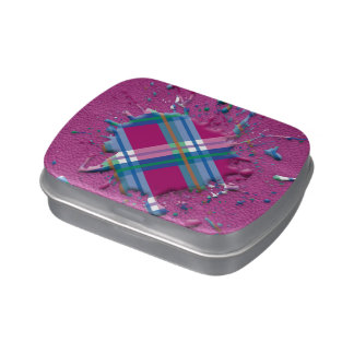salpicadura de los controles 3D en la textura de c Jarrones De Caramelos