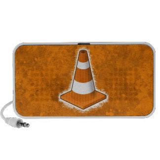 Salpicadura del cono de la seguridad de tráfico altavoces de viajar