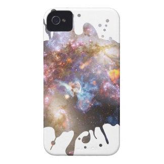 Salpicadura del espacio Case-Mate iPhone 4 protectores