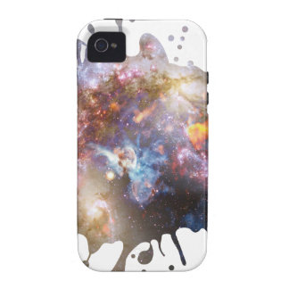 Salpicadura del espacio Case-Mate iPhone 4 carcasa