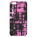 Salpicadura del rosa y del negro - iPhone 4