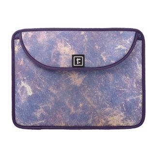 Salpicadura metálica del oro de la lila púrpura fundas macbook pro