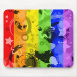 Salpicadura Mousepad del arco iris Tapete De Raton