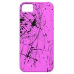 salpicadura negra iPhone 5 cobertura
