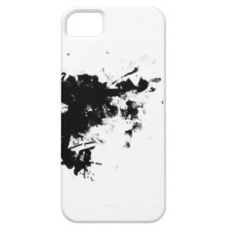 salpicadura negra iPhone 5 fundas