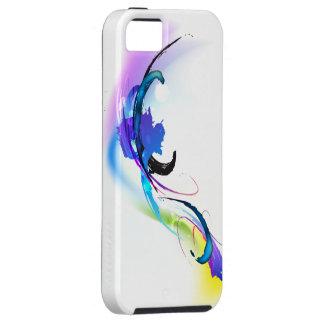 Salpicaduras abstractas de la pintura de la correh iPhone 5 Case-Mate cobertura