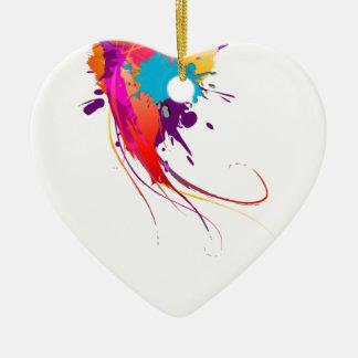 Salpicaduras exóticas abstractas de la pintura de  ornamento para reyes magos