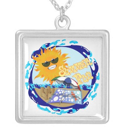 Salpicar la diversión del verano en la playa grimpolas personalizadas