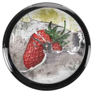 Salpicar la fresa relojes aquavista