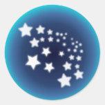 Salpicón de la estrella pegatinas