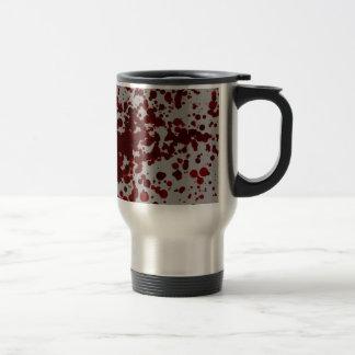 Salpicón de la sangre taza de café