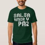 Salsa Amor y Paz T-shirt