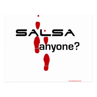 Salsa Anyone? Postcard