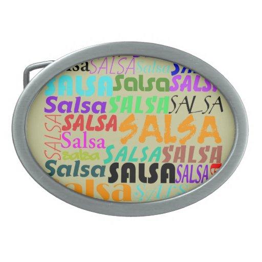 Salsa Belt Buckle