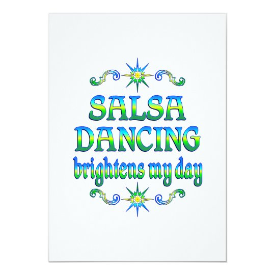 Salsa Brightens Card