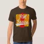 ¡Salsa caliente! Camisas