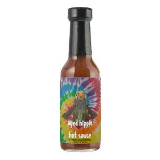 salsa caliente envejecida del hippie salsa picante