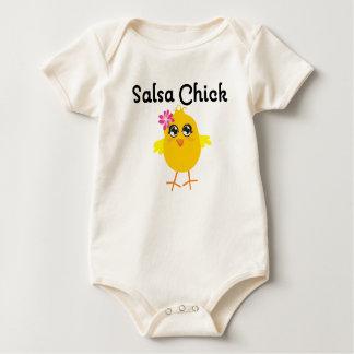 Salsa Chick Baby Bodysuit