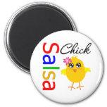 Salsa Chick Refrigerator Magnet