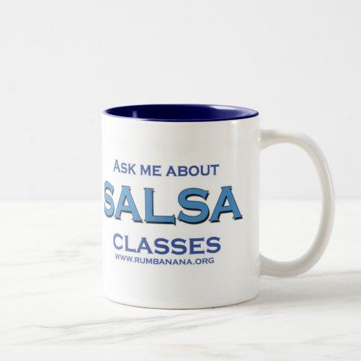 Salsa CLASSES Coffee Mugs