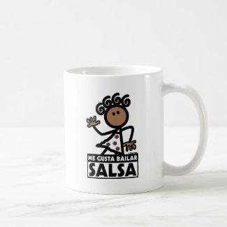 SALSA CLASSIC WHITE COFFEE MUG