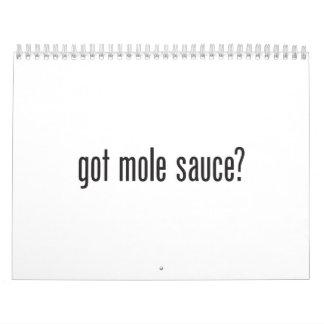 salsa conseguida del topo calendarios