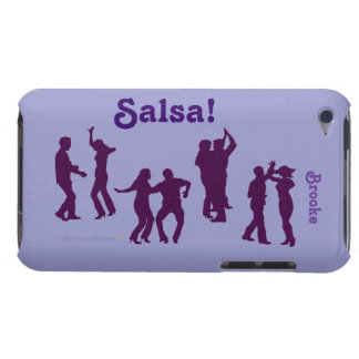 Salsa Dancers Silhouettes Dancing Custom itouch iPod Touch Case