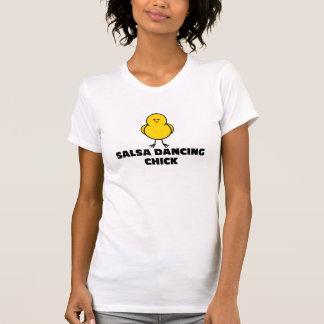 Salsa Dancing Chick T-Shirt