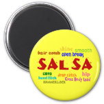 Salsa Dancing Lovers Dance Moves and Terms Magnet